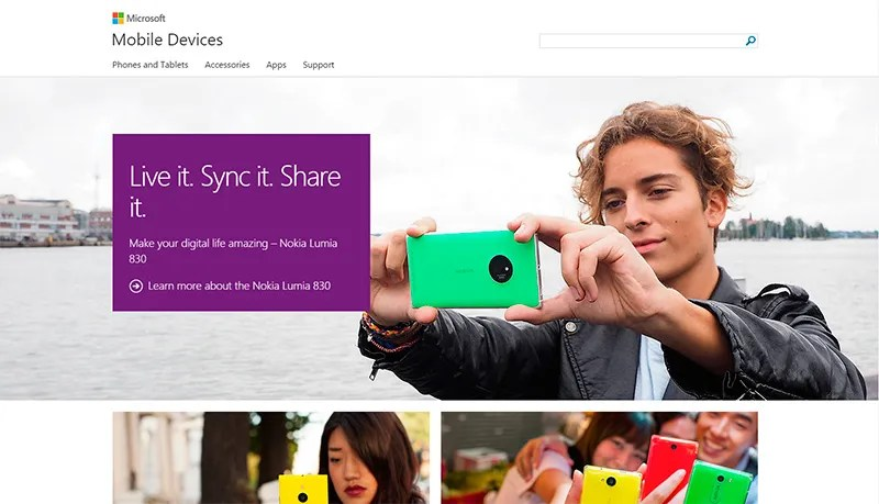 Microsoft Mobile Devices