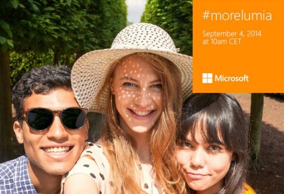 ¿Listos para #morelumia?