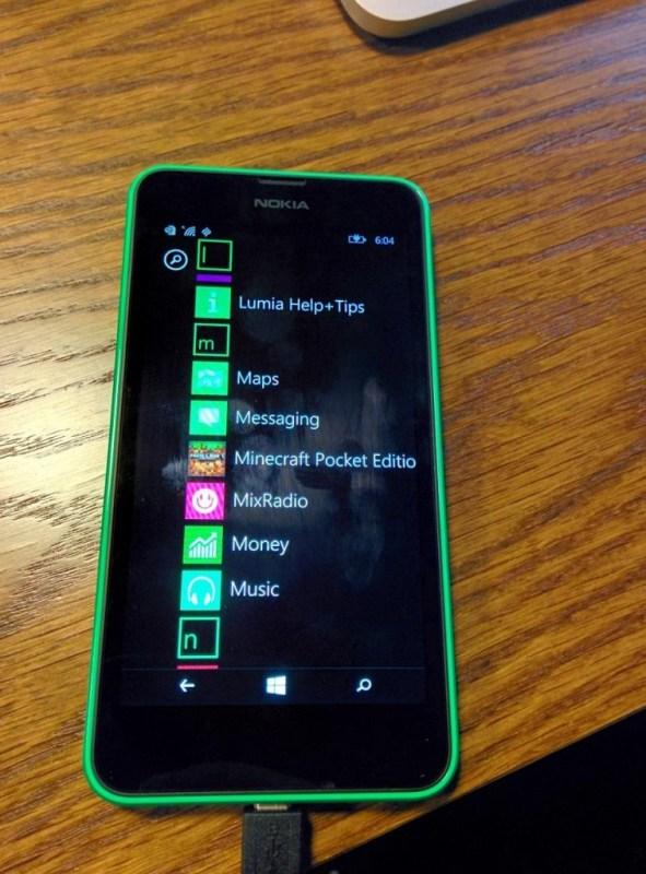 Minecraft para Windows Phone