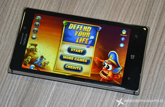 Defend your life Windows Phone