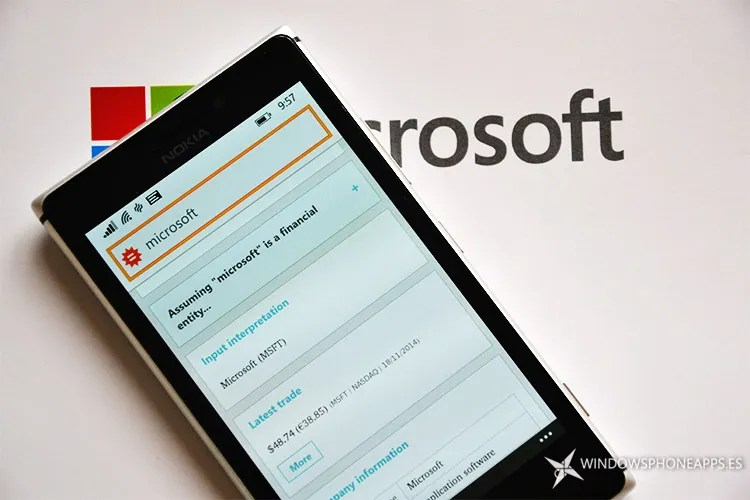WolframAlpha Windows Phone