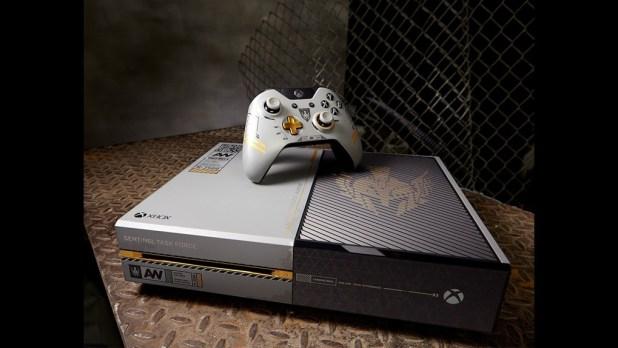 Xbox One con CoD- Advanced Warfare