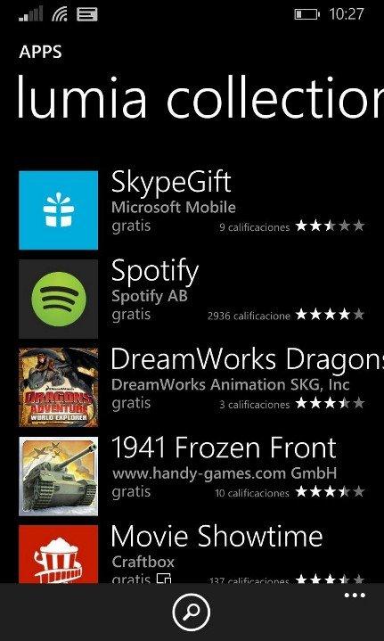 Lumia collection