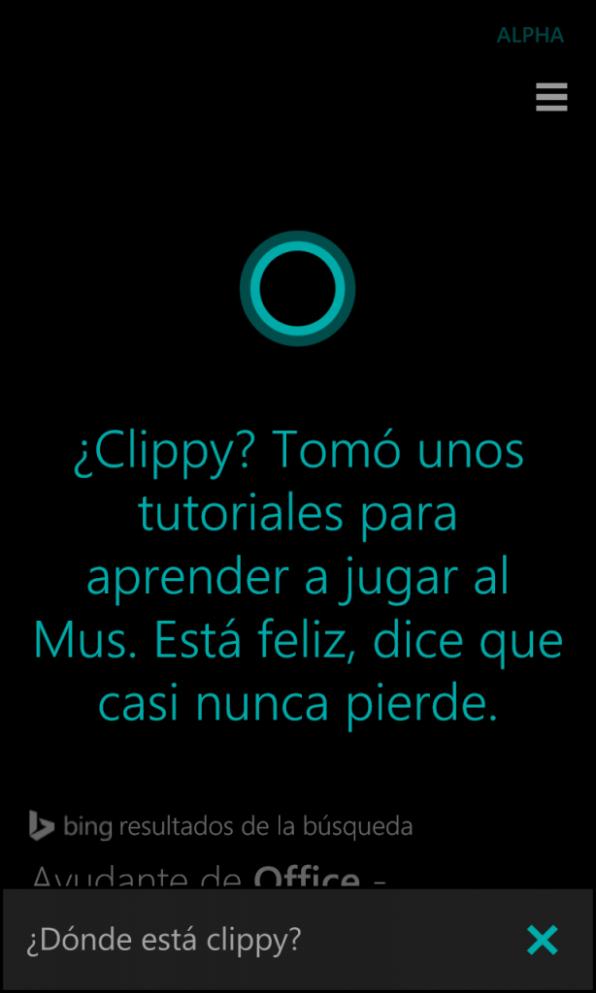 Cortana clippy