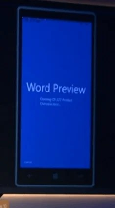 Word Preview para móviles