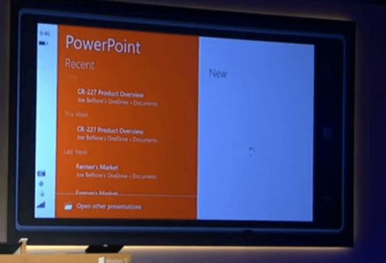 PowerPoint para móviles