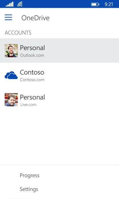 Multiple-User-Accounts-for-OneDrive-on-Windows-Phone