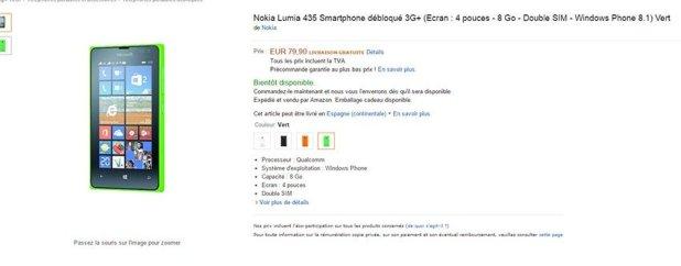 lumia 435 amazon