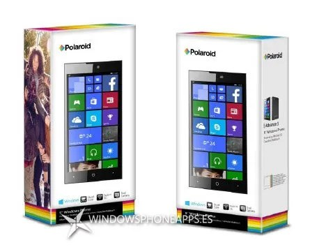 Polaroid advance 5 - Windows Phone cajas