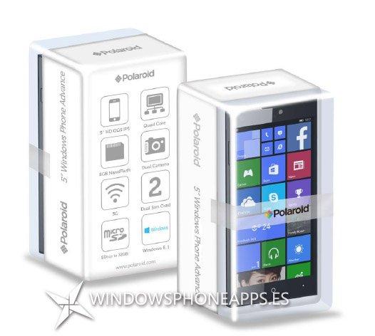 Polaroid advance 5 - Windows Phone -embalajes