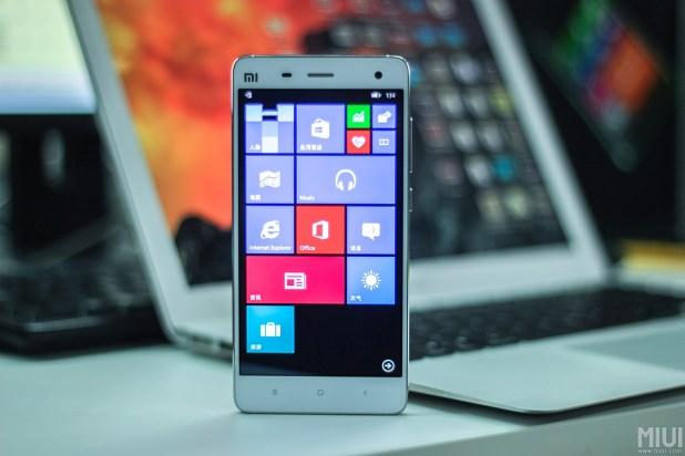 windows 10 xiaomi mi4