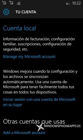 apartado-tu-cuenta-windows-10-mobile-build-10149