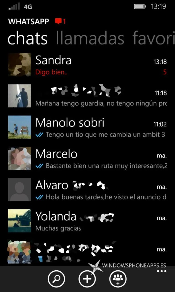 whatsapp beta notificaciones