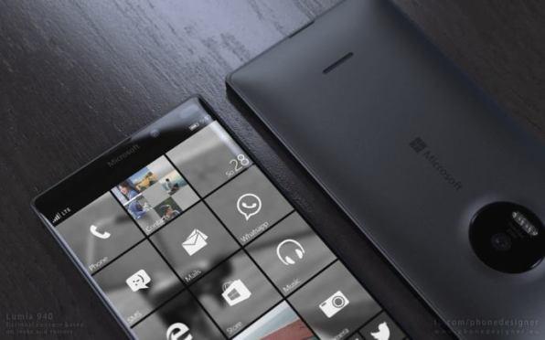 Concepto Lumia 940