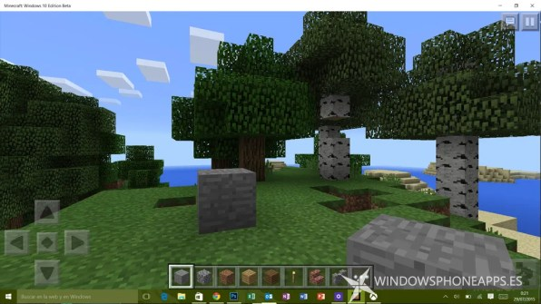 minecraft edicion windows 10 beta - juego