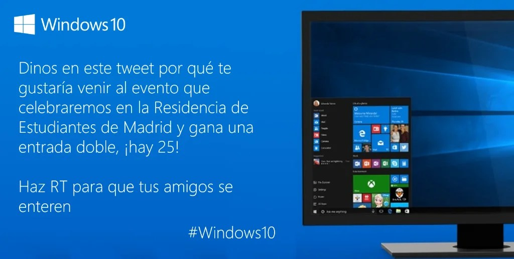 windows 10 espana