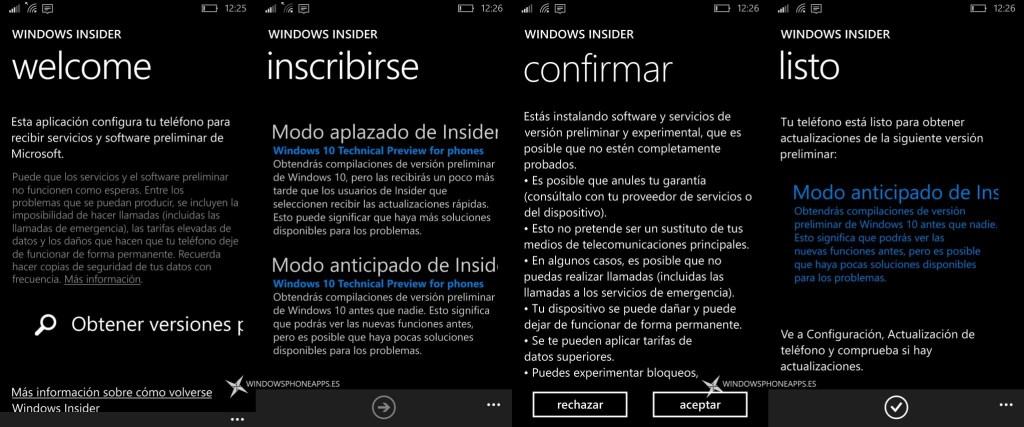 windows insider en espanol