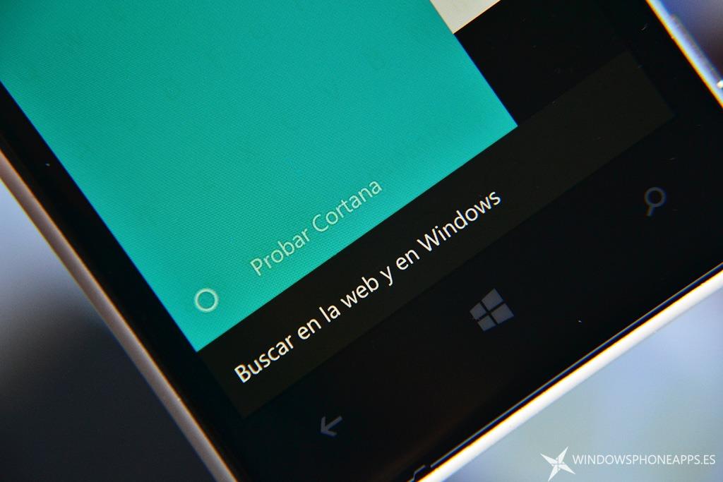 Activar Cortana en Windows 10 Mobile