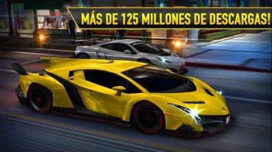 125 millones de descargas de CSR Racing