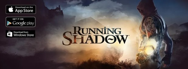 Running Shadow Portada