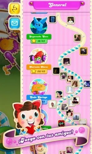 Niveles de Candy Crush Soda Saga