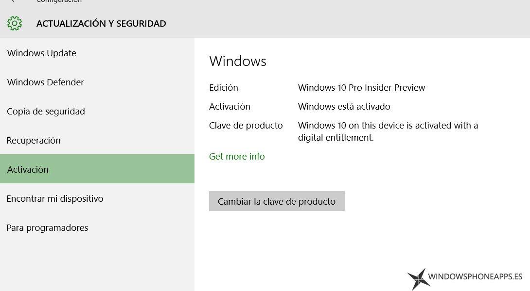 activacion windows 10