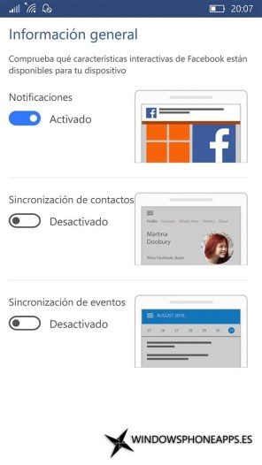 Facebook para Windows 10 Mobile (1)