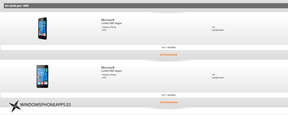 orange lumia 550 - lumia 950