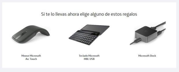 Regalos de Movistar México como el Display Dock al comprar el Microsoft Lumia 950 XL