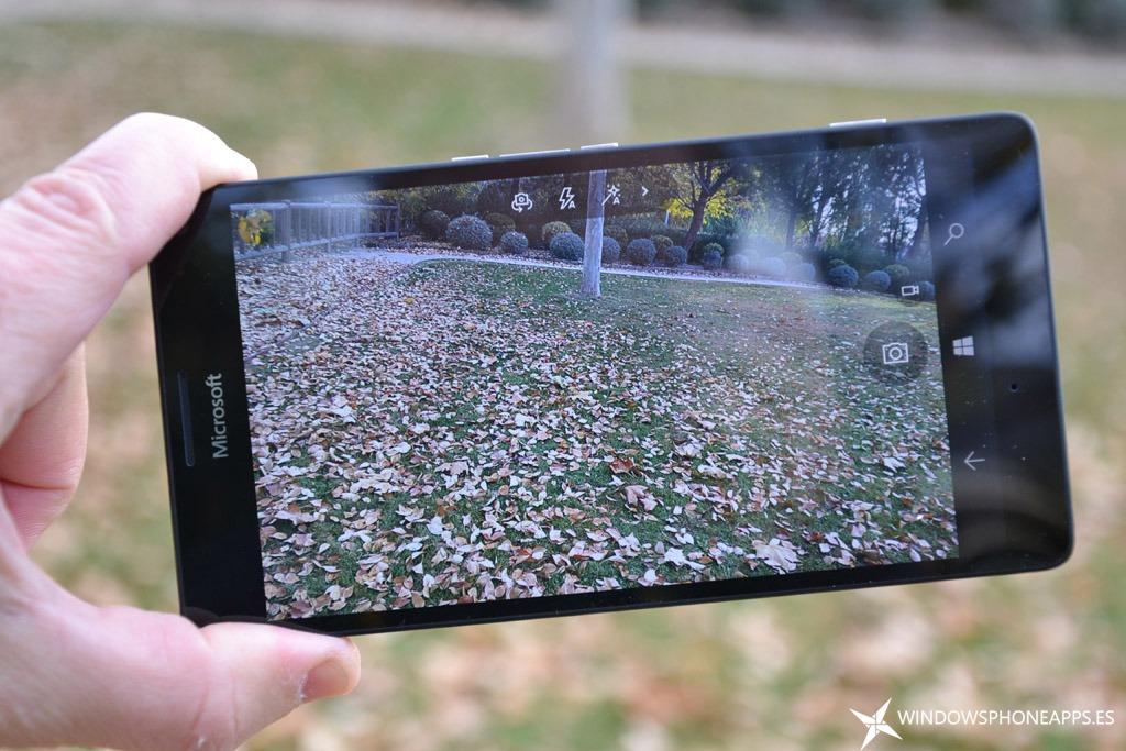 fotografias con el Lumia 950 XL