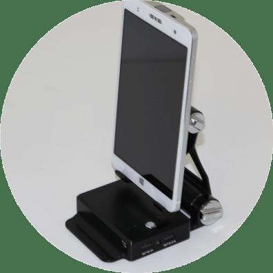 Akyumen-Saber-Power-Stand-con-Holofone-acoplado