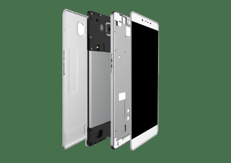 Coship Moly PCPhone W6 partes