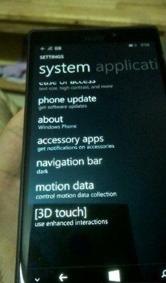 Lumia McLaren imagen Nokia 5