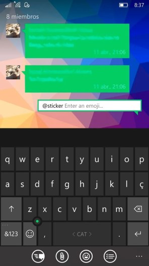 Telegram-Messenger-1.24-Bots-2.0-inciando-sticker
