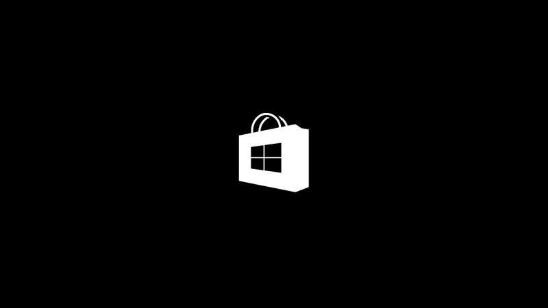 tienda-de-windows-10-logo-negro