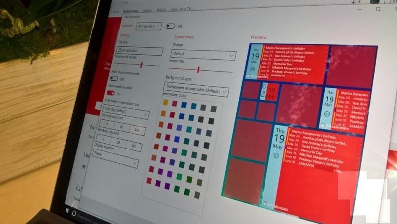 Tiles for Outlook