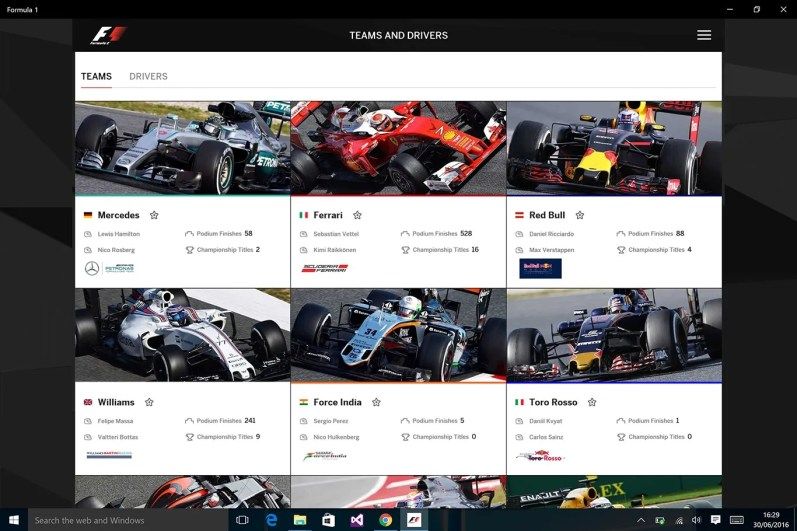 f1 windows 1