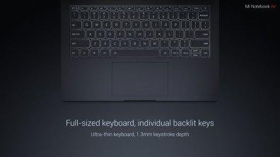 xiaomi-Mi-Notebook-Air-teclado