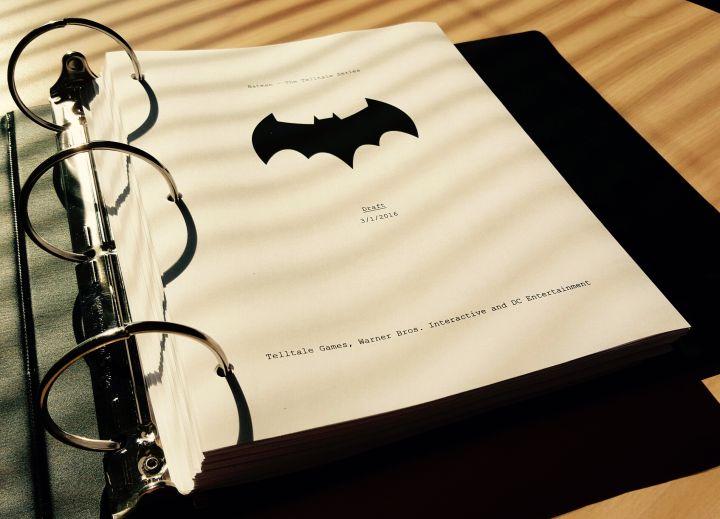 Batman guion