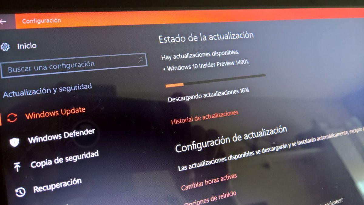 Build 14901 Windows 10 PC Insider