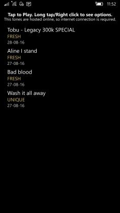Melodia Windows 10 UWP App 3