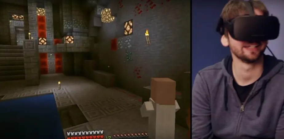 Minecraft con Oculus Rift
