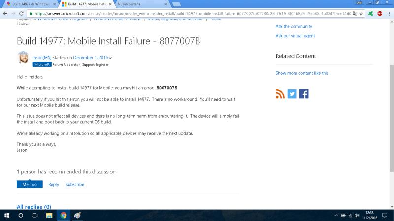build-14977-failure