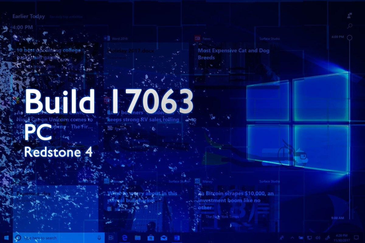 Build 17063