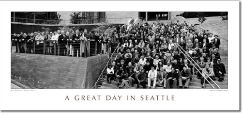 Great Day Seattle Poster