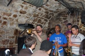 Jam session at Caveau des Oubliettes