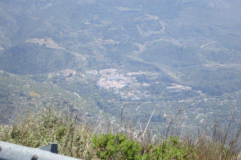 Weißen Häuser von Itrabo