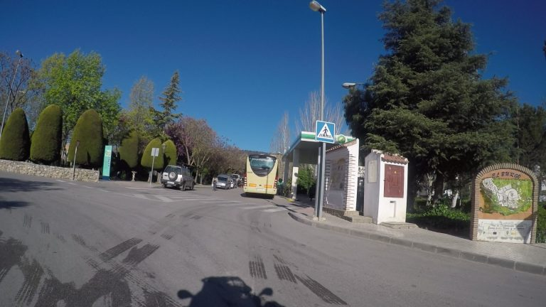 Tankstopp in el Burgo