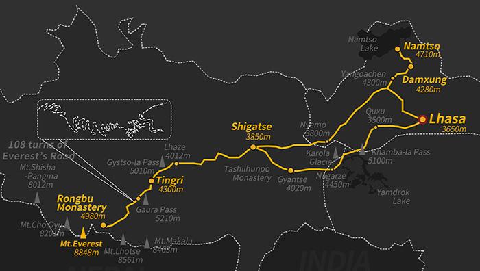 Tibet Mt. Everest