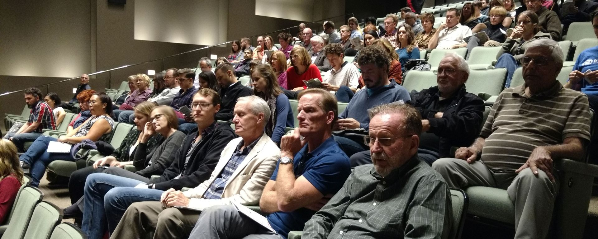 A packed house for After the Last River's Ottawa premiere.